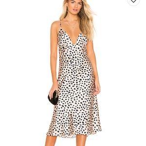 NWT Leopard Print Midi Dress